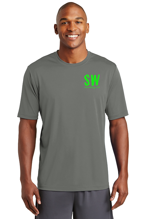 Dark Smoke Sport-Tek® PosiCharge® Tough Tee