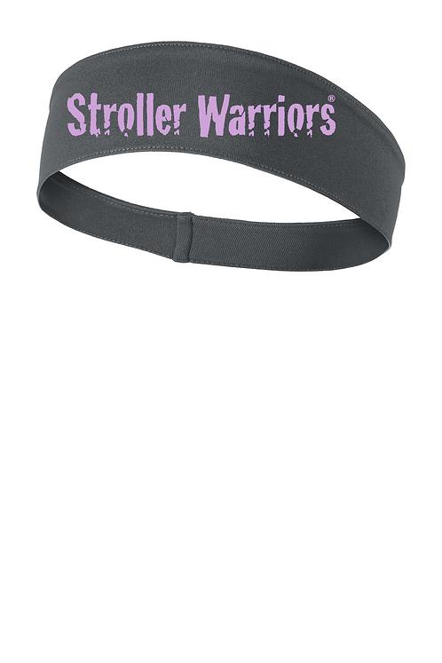 Iron grey Sport Tek Posi-Charge Competitor headband
