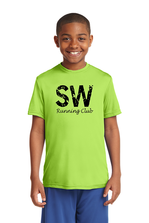 Lime Shock Sport-Tek Youth PosiCharge Competitor™ Tee