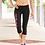 Thumbnail: Black Champion - Women's Everyday Performance Capri Leggings