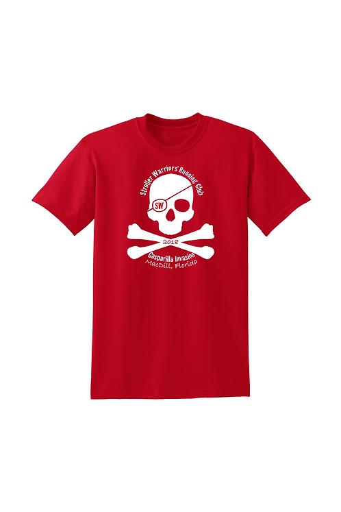 Red Gildan DryBlend® 50 Cotton/50 Poly T-Shirt