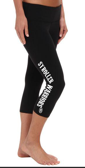 Black All Sport Women's Capri Legging