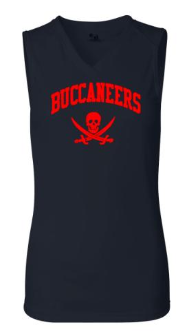 Navy Blue Badger B-Core Women's Sleeveless Tank