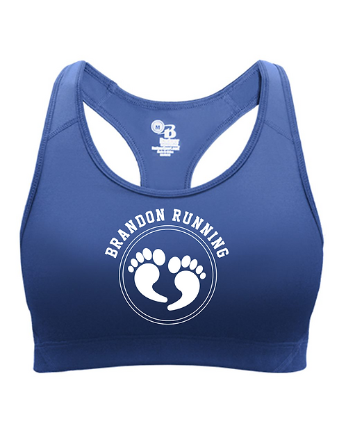 Royal blue Badger - Women's B-Sport Bra Top