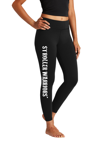 Black Sport-Tek® Ladies 7/8 Legging