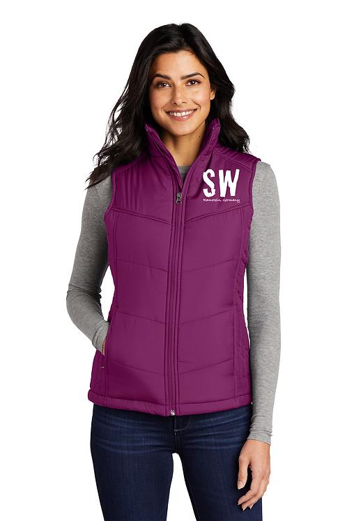 Berry Port Authority® Ladies Puffy Vest