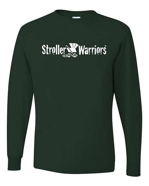 Forest Green blue Dri-Power® Long Sleeve 50/50 T-Shirt