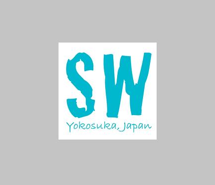 SW Yokosuka, Japan  Magnetic Car Decal