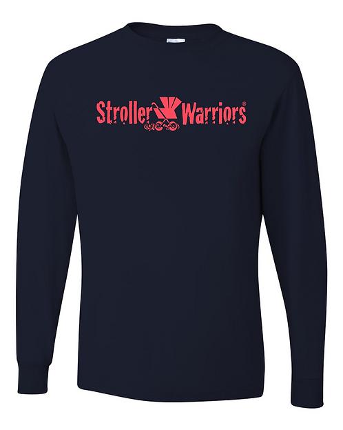 Black Dri-Power® Long Sleeve 50/50 T-Shirt