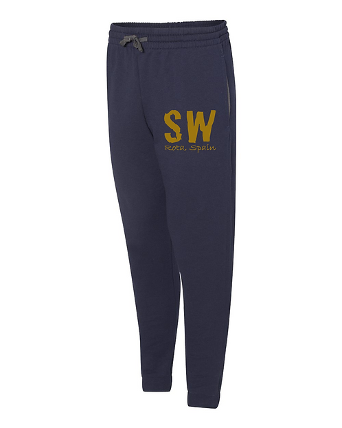 Navy blue Jerzees - Nublend® Joggers