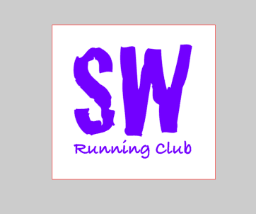 Stroller Warriors Running Club  Magnetic Car Decal