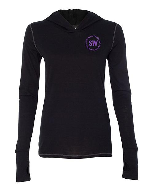 Black Triblend All Sport Women's Performance Triblend pullover