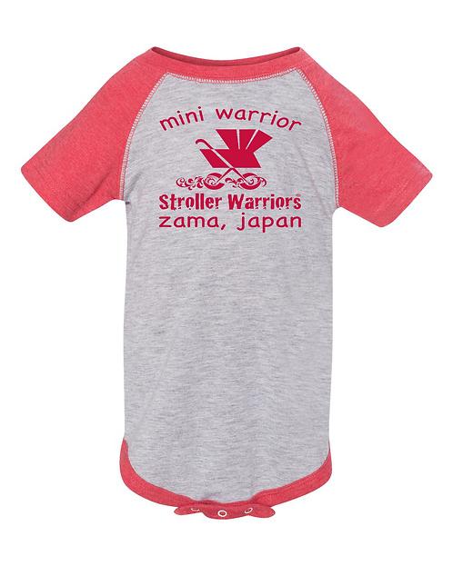 Vintage Red Rabbit Skins™ Infant Baseball Fine Jersey Bodysuit
