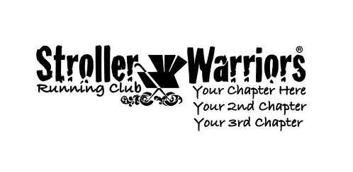 Stroller Warrior® Running Club 3 Locations Decal