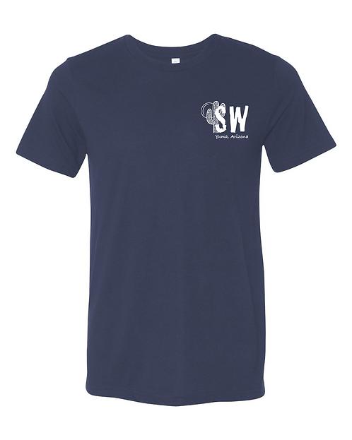 Navy blue Bella & Canvas - Unisex Triblend Short Sleeve Tee