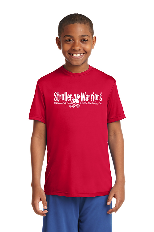 Red Sport-Tek® Youth PosiCharge® Competitor™ Tee