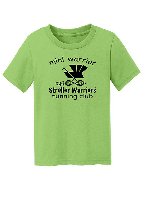 Lime Port & Company® Toddler Core Cotton Tee