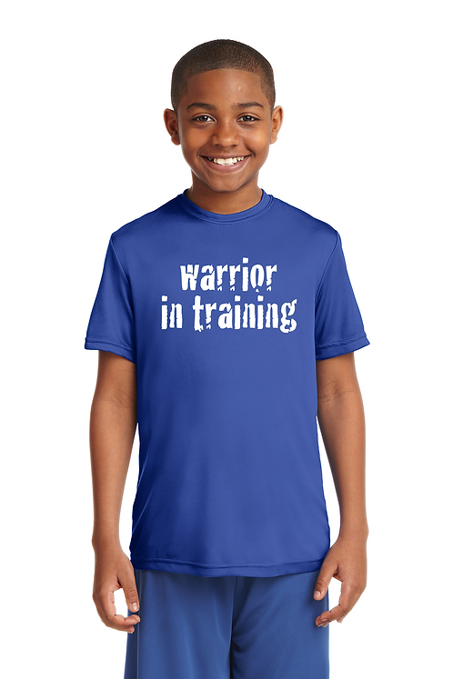 True Royal Sport-Tek® Youth PosiCharge® Tough Tee