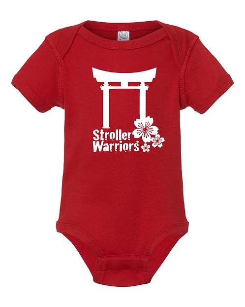 Red Rabbit Skins™ Infant Short Sleeve Baby Rib Bodysuit