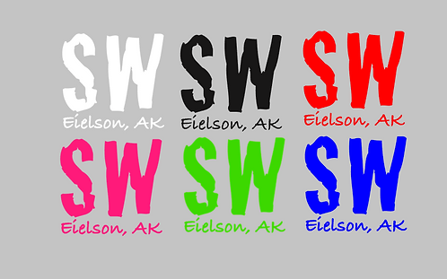 SW Eielson Square Decal