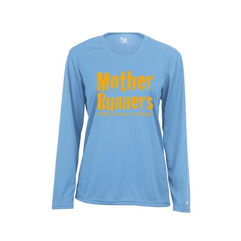 Columbia Blue Badger - B-Core Women's Long Sleeve T-Shirt