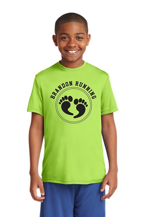Lime Shock Sport-Tek® Youth PosiCharge®Competitor Tee