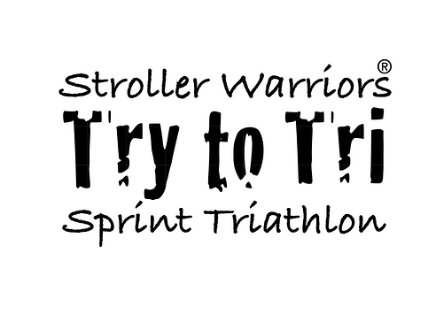 Stroller Warrior® Try to Tri Decal