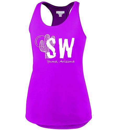 Power pink Augusta Sportswear - Women's Sojourner Tank