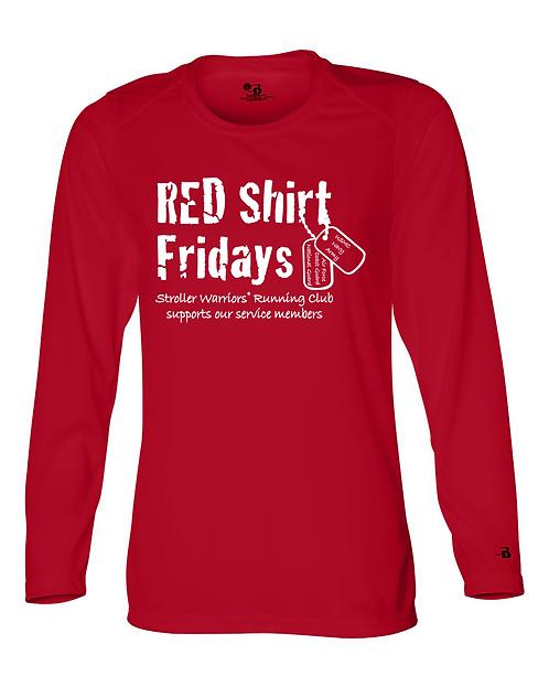 Red Badger - B-Core Women's Long Sleeve T-Shirt
