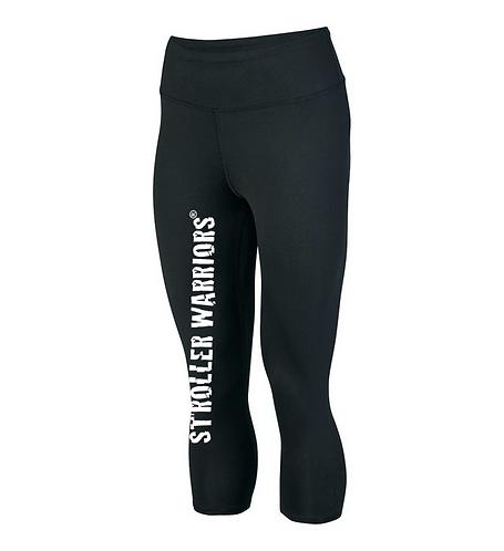 Black Augusta Sportswear - Women's Hyperform Compression Capri