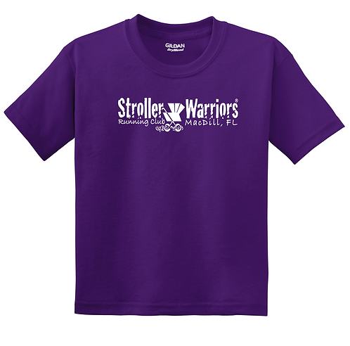 Purple Youth DryBlend® 50 Cotton/50 Poly T-Shirt