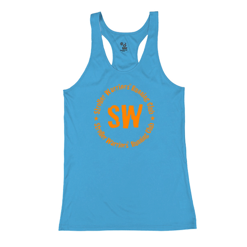 Columbia Blue B-Core Women's Racerback Tank Top