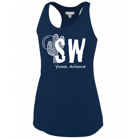 Navy Augusta Sportswear - Women's Sojourner Tank