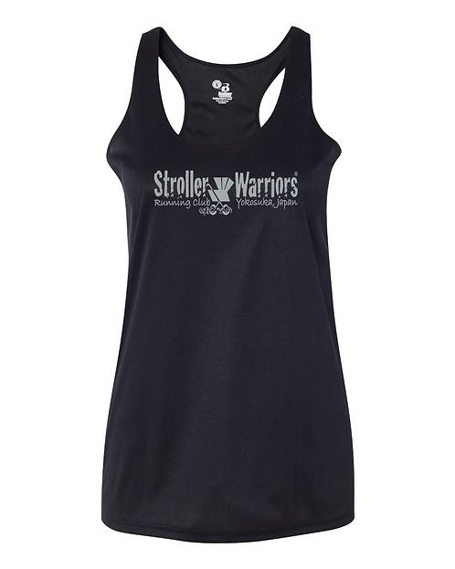 Black Badger B-Core Women's Racerback Tank Top