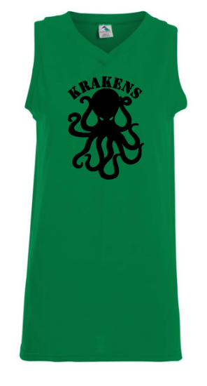 Kelly Green Augusta Sportswear - Women's Sleeveless V-Neck Jersey