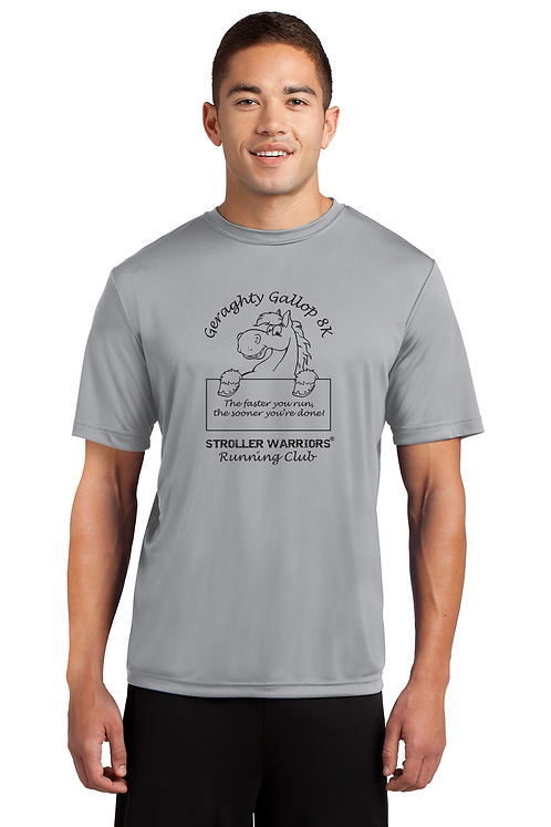 Silver Sport Tek Posi-Charge Competitor Tee