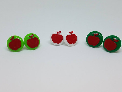 Apple Earrings, Teacher earrings