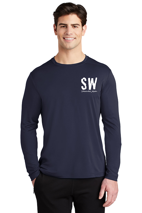 Navy blueSport-Tek ® Posi-UV™ Pro Long Sleeve Tee