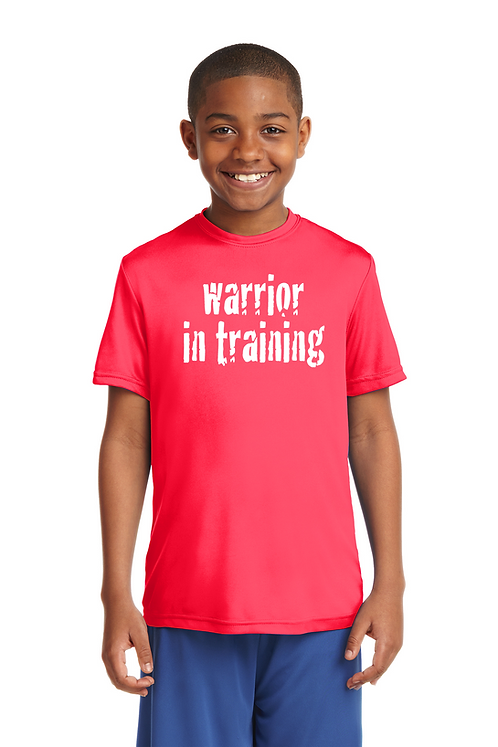 Hot Coral Sport-Tek® Youth PosiCharge® Competitor™ Tee