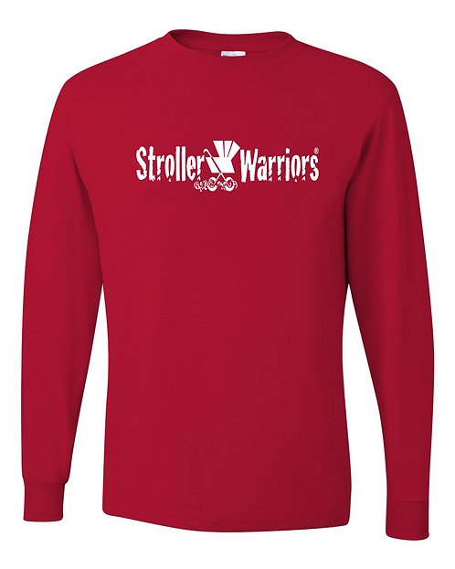 Red Dri-Power® Long Sleeve 50/50 T-Shirt
