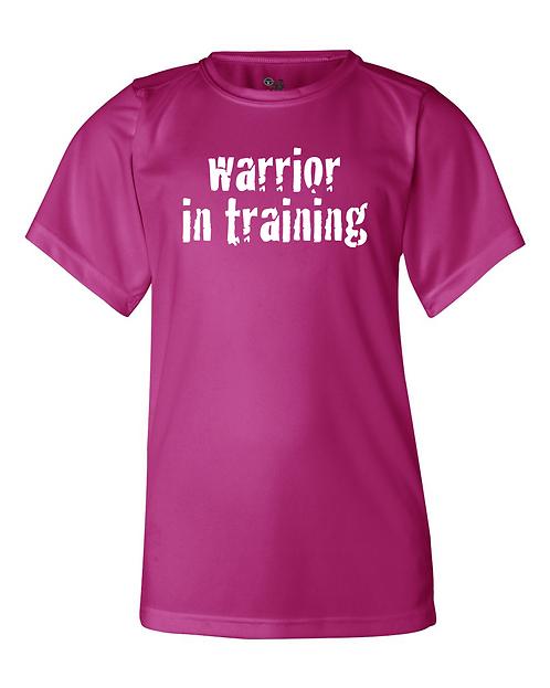 Hot pink Badger - B-Core Youth Short Sleeve T-Shirt
