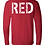 Thumbnail: Red Bella + Canvas - Long Sleeve Jersey Tee