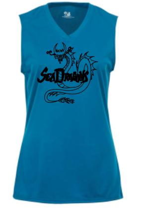 Electric Blue Badger B-Core Women's Sleeveless Tank