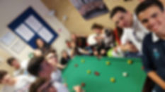 International College of English games room