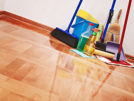 5 Summer House Cleaning Tips