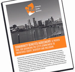 White Paper on Portland's Community Benefits Agreement