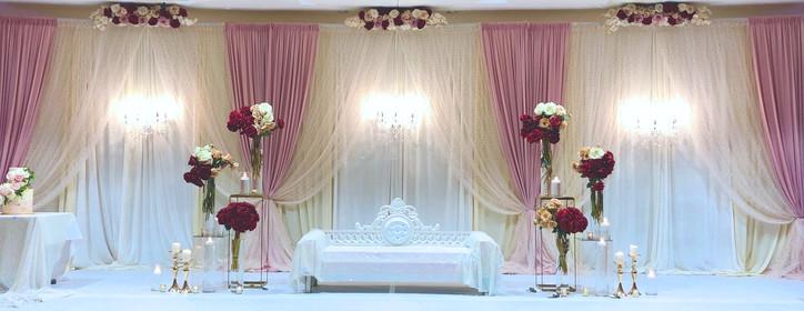Wedding Reception Stage Design