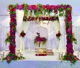 Enchanted Floral Mandap