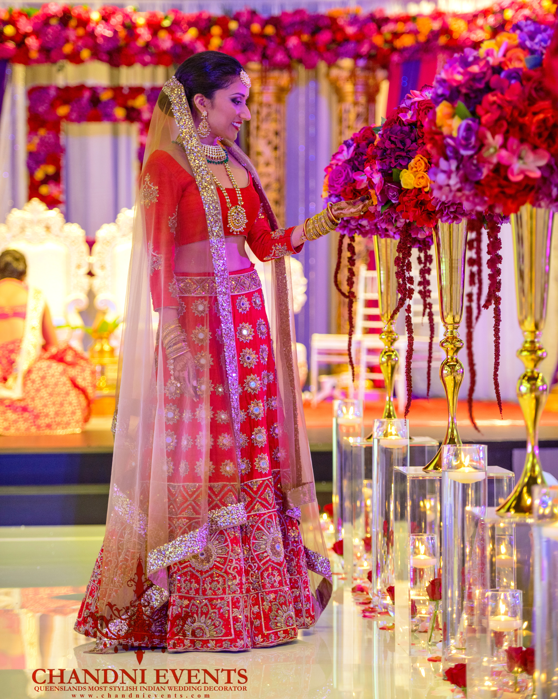 Mandap and Indian Bride