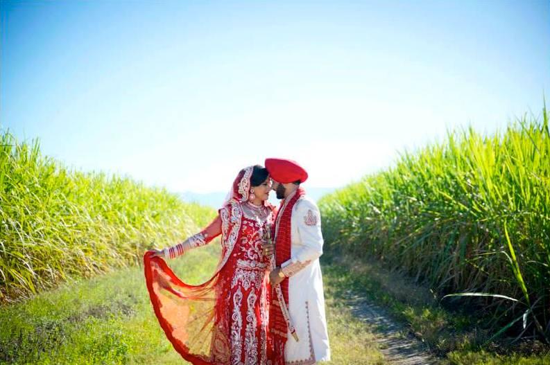 Punjabi Wedding Reception